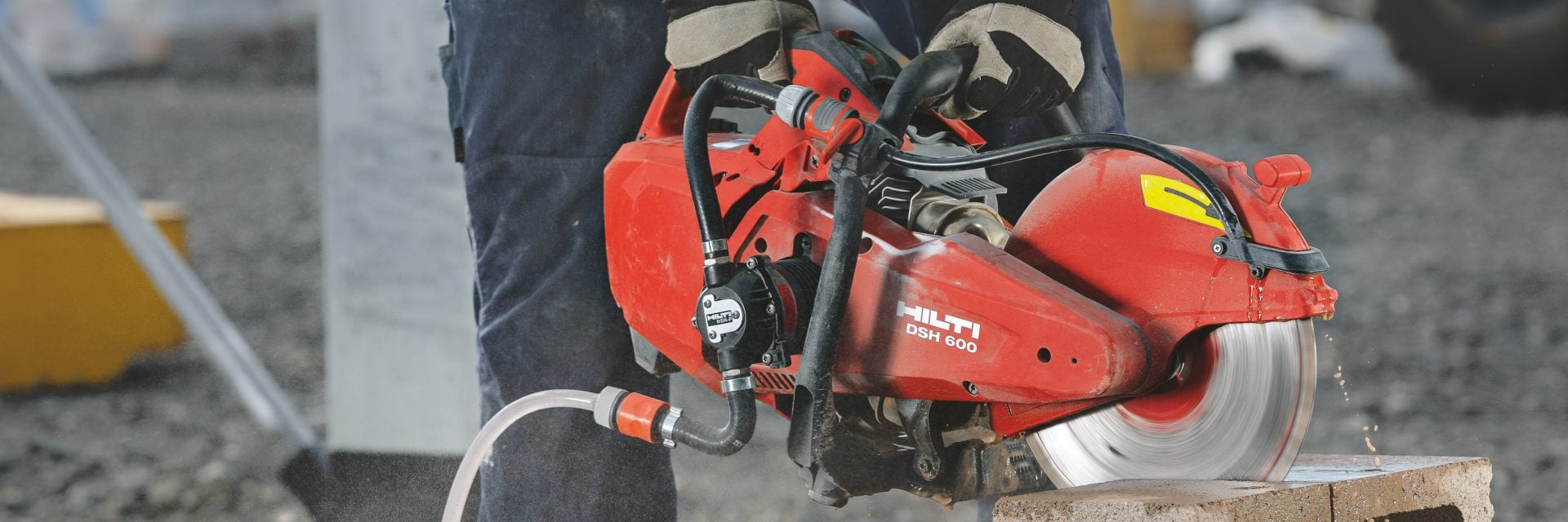 DSH 600-X gas saw for concrete cutting