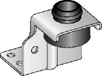 MVA-Z Galvanised air duct bracket for fastening light ventilation ducts overhead
