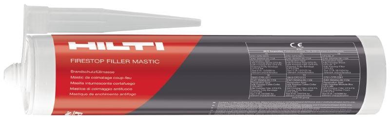 CFS-FIL Filler Mastic Filler for use in combination with firestop blocks, plugs and cable collars