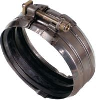 RAPID MSM Premium clamp coupling for high flexible cast-iron pipe connection